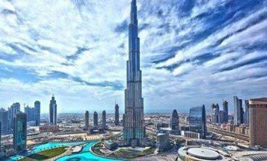 beautiful image Dubai Burj Khalifa expo new year 2020