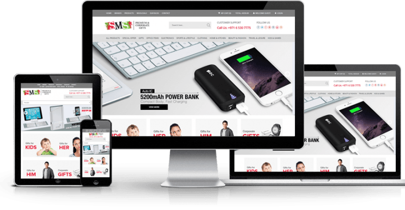 Revamped Website For Dubai Corporate Gift Company
