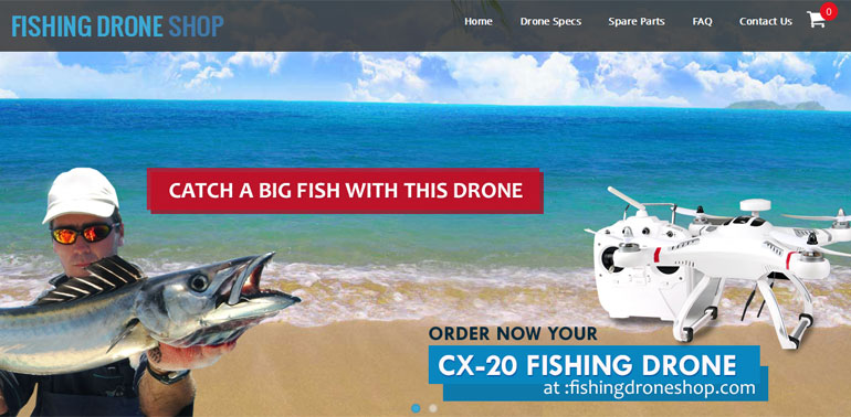 Fishing Drone Shop