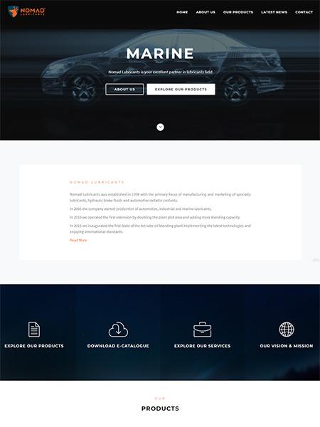 Nomad Lubricants LLC , UAE Company