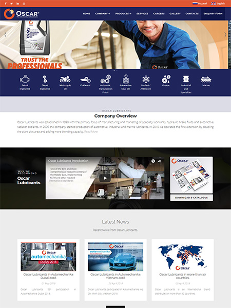 Oscar Lubricants LLC , UAE Company