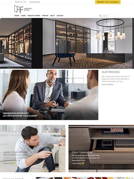 QAF Closets , UAE Company