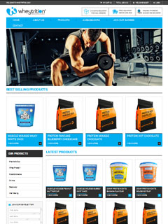 Whey Trition , UAE Company